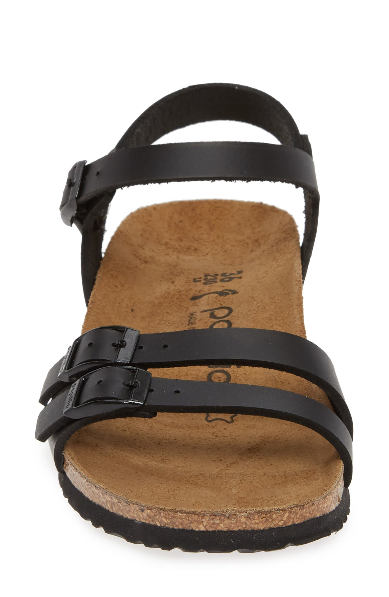,                             Papillio by Birkenstock Lana Sandal,                             Alternate thumbnail 5, color,                             BLACK LEATHER