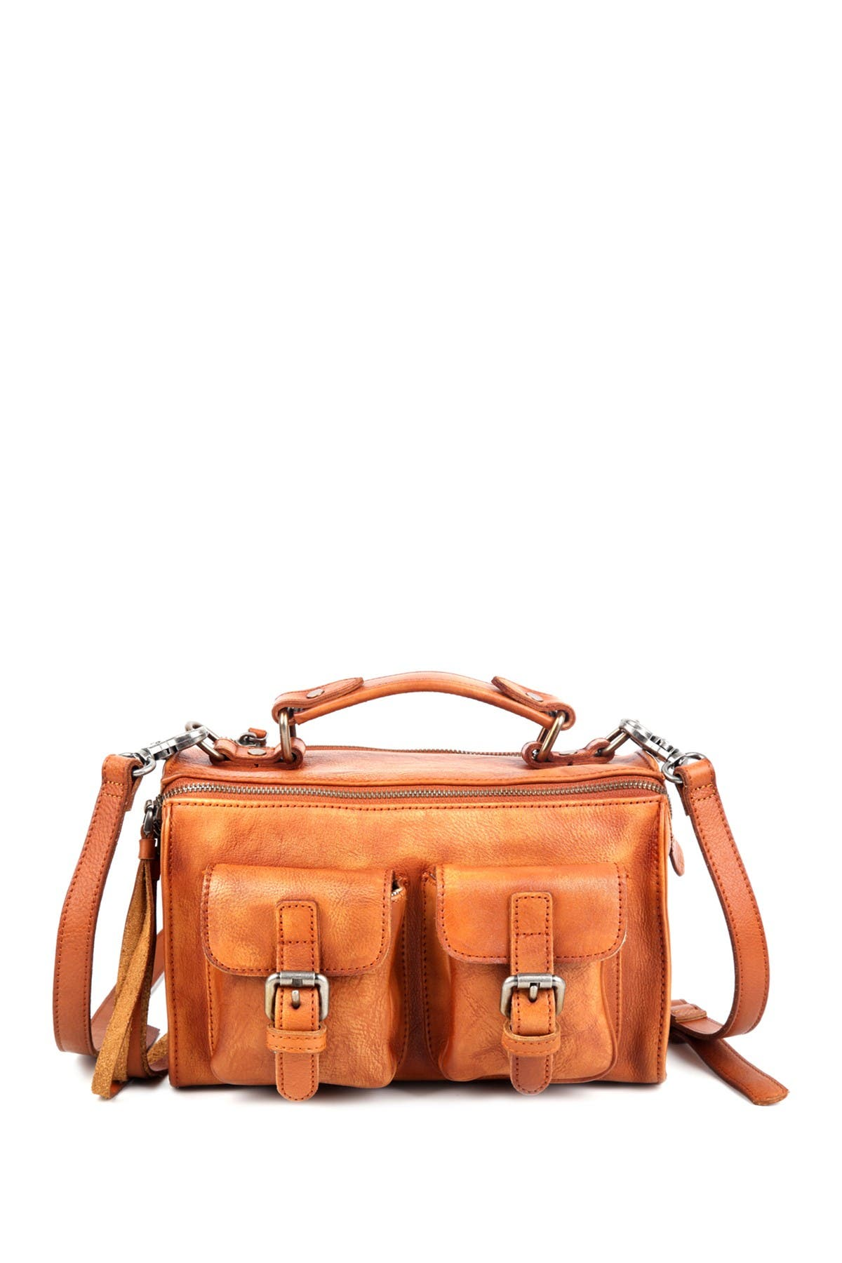 Image of Old Trend Las Luna Leather Crossbody Bag