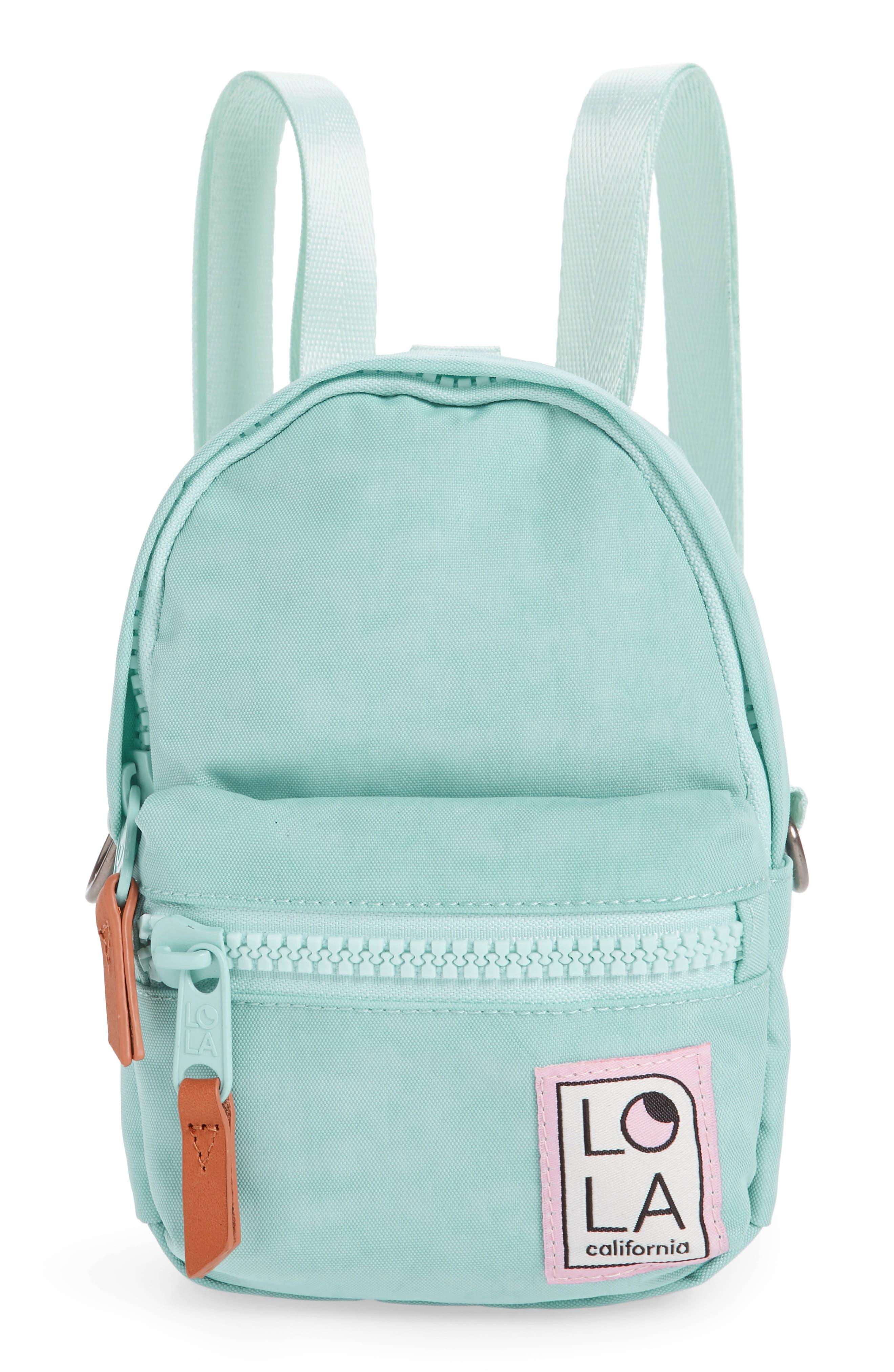 Lola Los Angeles Stargazer Mini Convertible Backpack - Blue