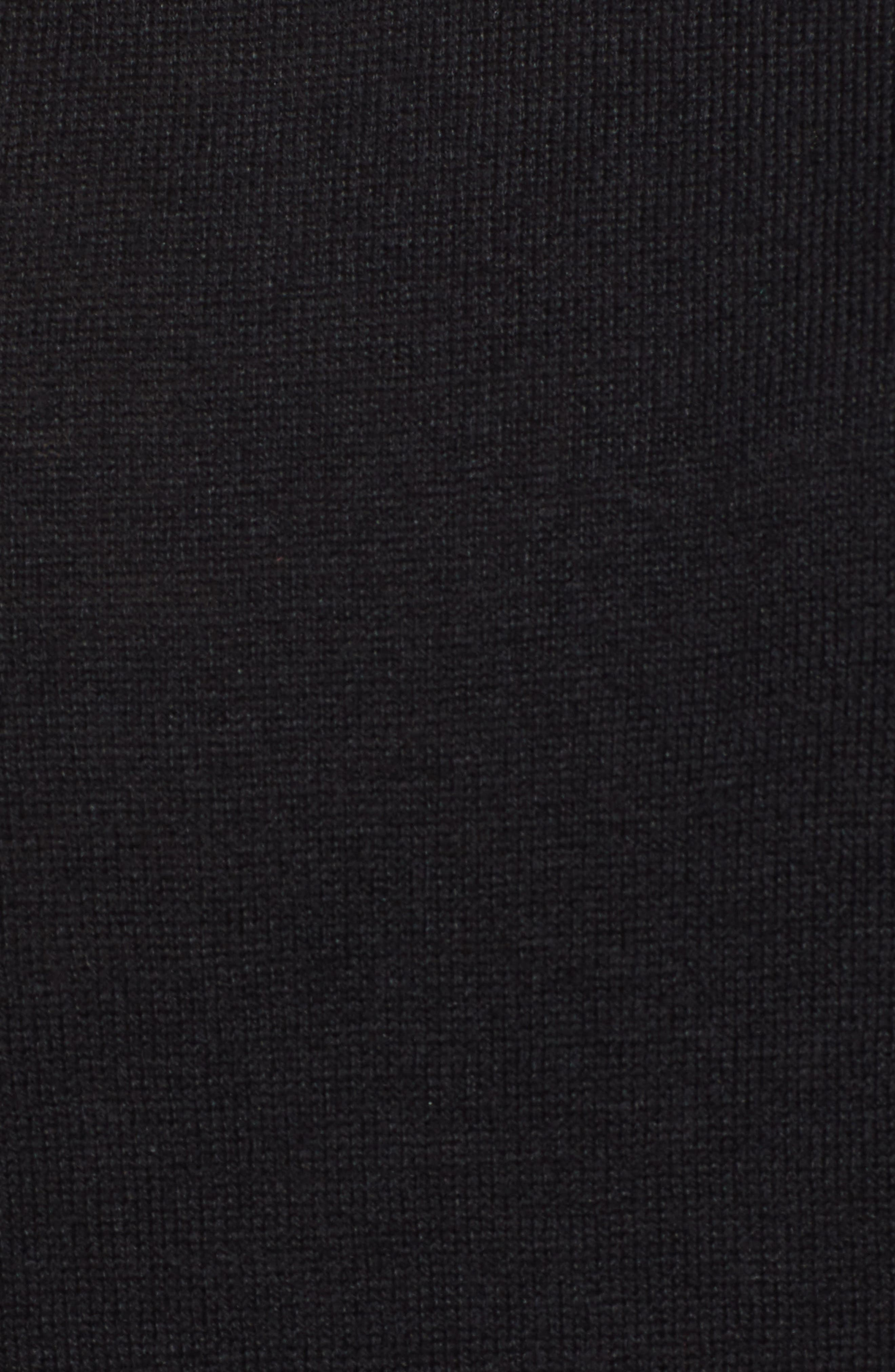 ,                             Scallop Neck Sweater,                             Alternate thumbnail 11, color,                             001