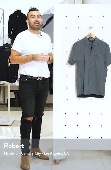 Oatshor Slim Fit Short Sleeve Button-Up Shirt, sales video thumbnail