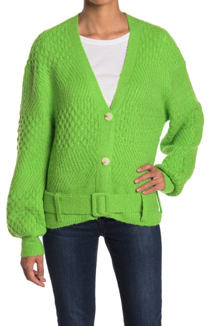 Image of J.O.A. Belted Knit Cardigan