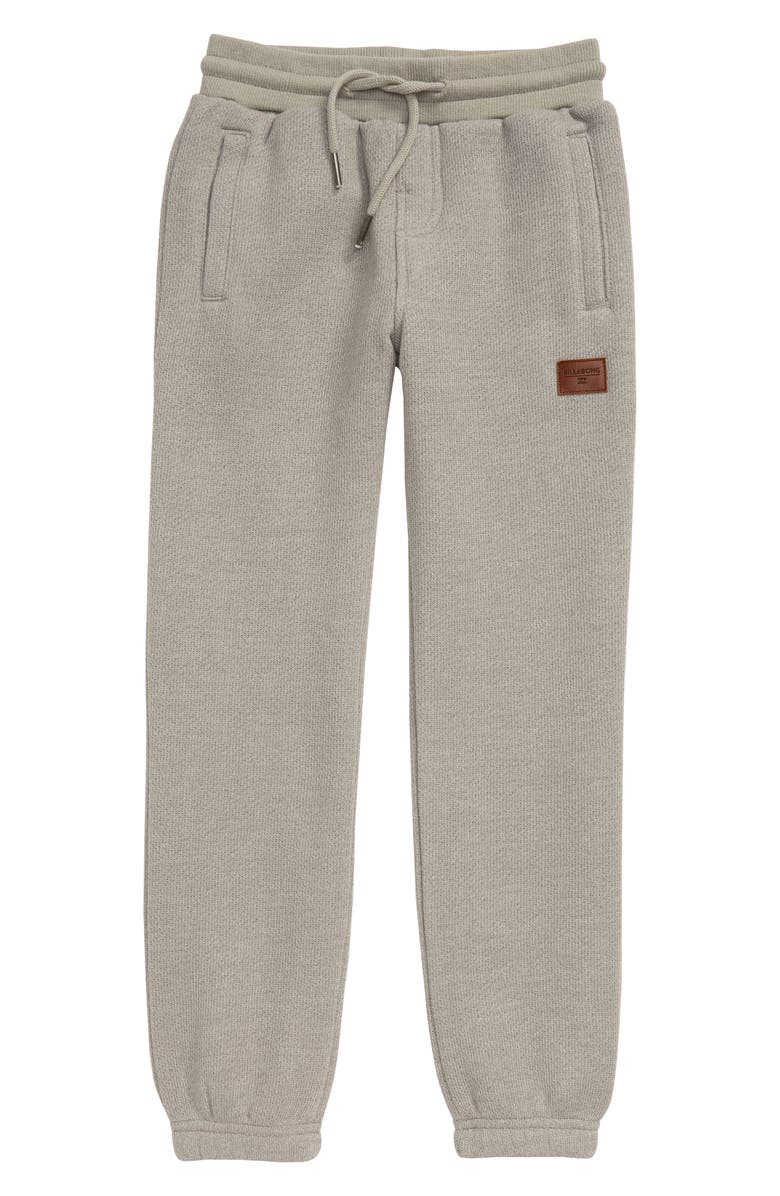 BILLABONG Balance Cuff Sweatpants, Main, color, LIGHT GREY