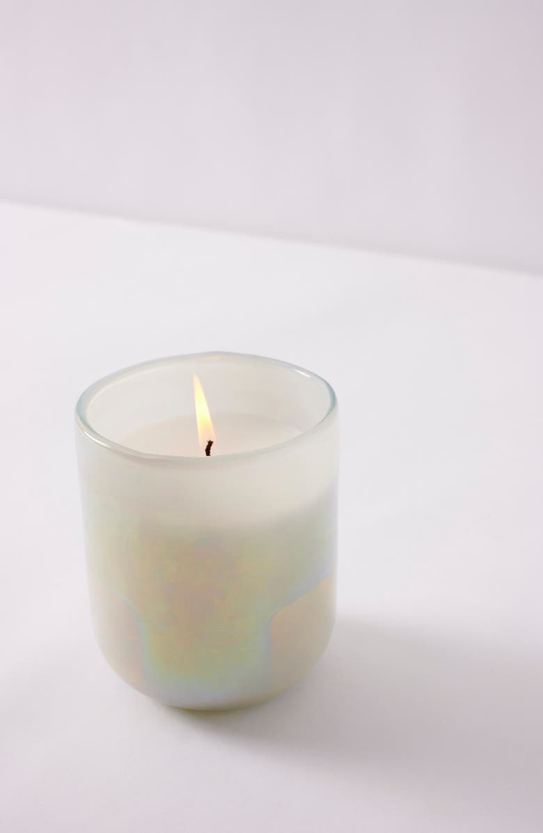ANTHROPOLOGIE HOME Small Unicorn Candle, Main, color, GARDENIA