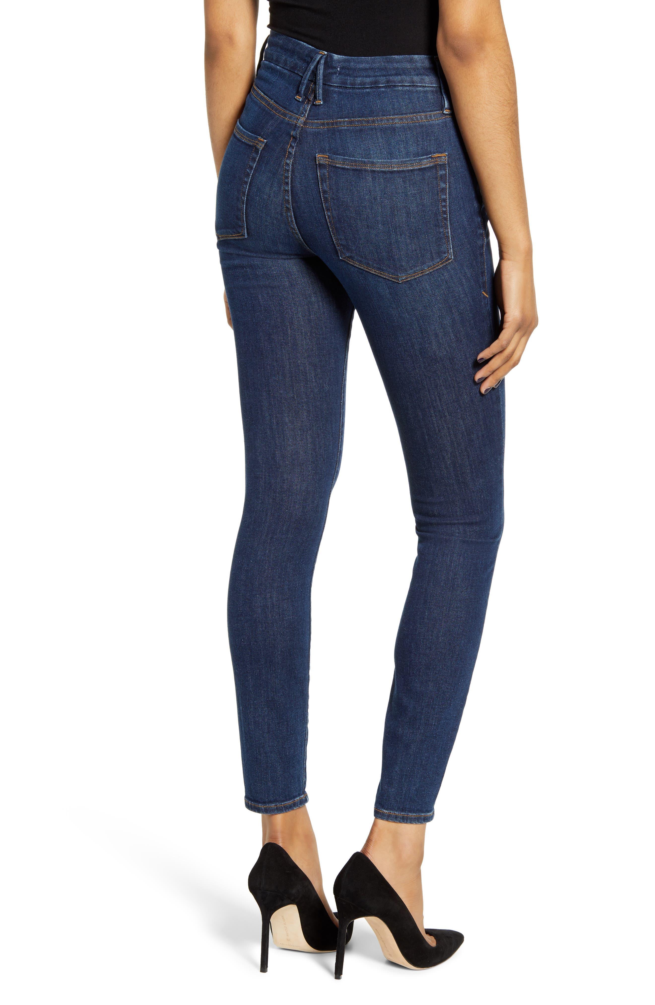 ,                             Good Legs High Waist Skinny Jeans,                             Alternate thumbnail 62, color,                             409
