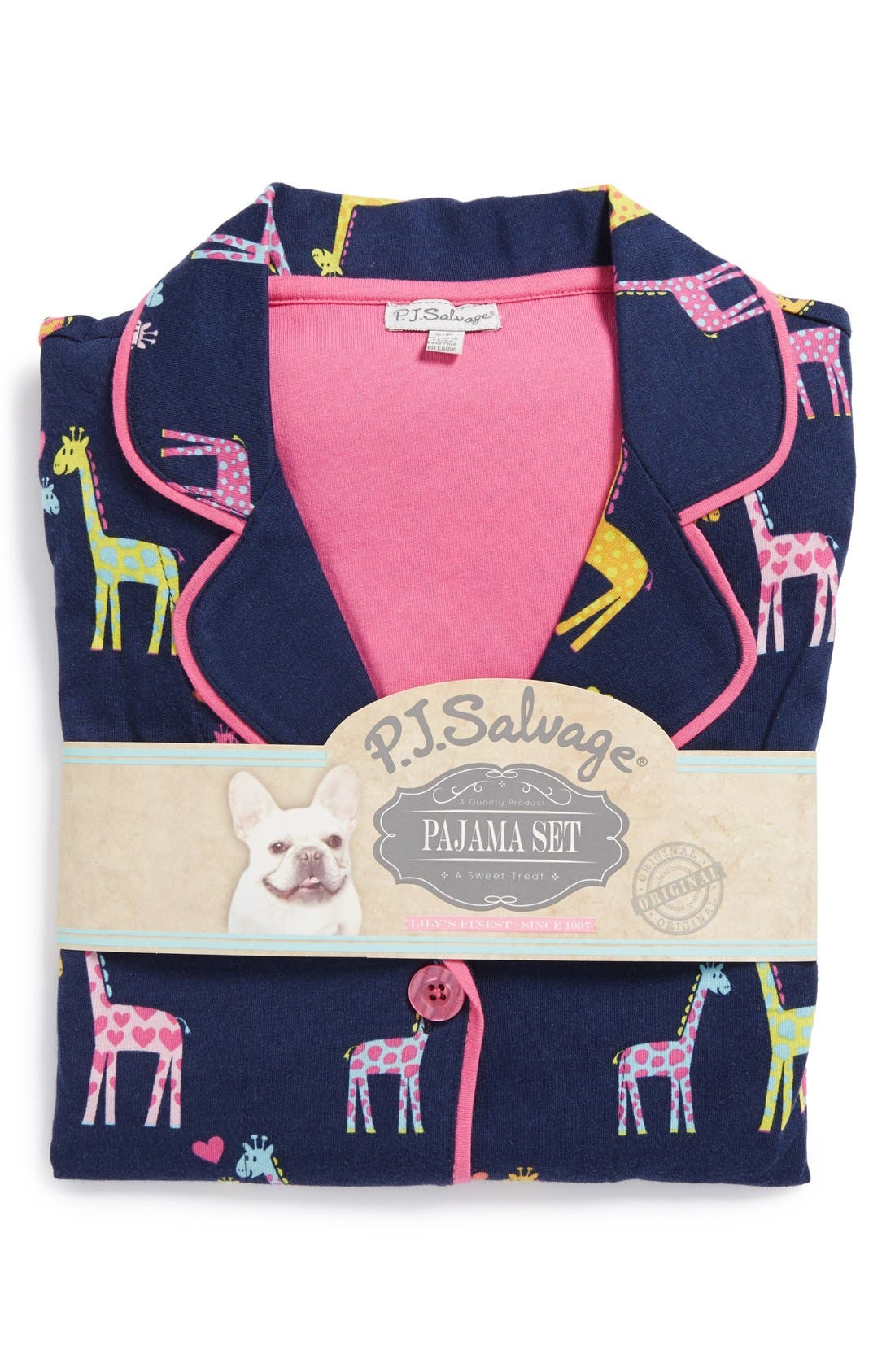 ,                             Print Jersey Pajamas,                             Alternate thumbnail 24, color,                             410