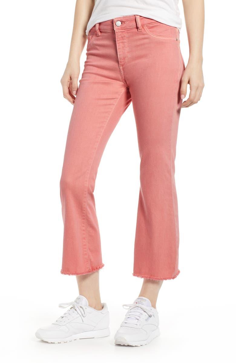 DL1961 Bridget Instasculpt Crop Bootcut Jeans, Main, color, COZUMEL