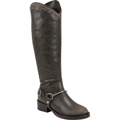 Sigerson Morrison Helana Western Knee High Boot, Brown