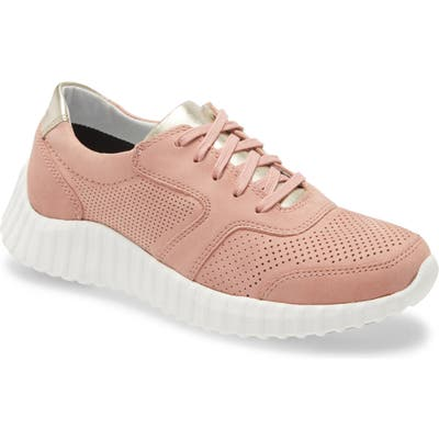Johnston & Murphy Kendall Perforated Sneaker, Pink