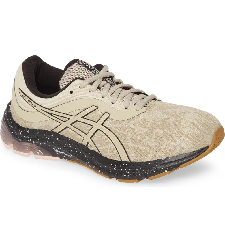 ASICS<SUP>®</SUP> GEL-Pulse<sup>™</sup> 11 Winterized Running Shoe, Main, color, PUTTY/ BLACK