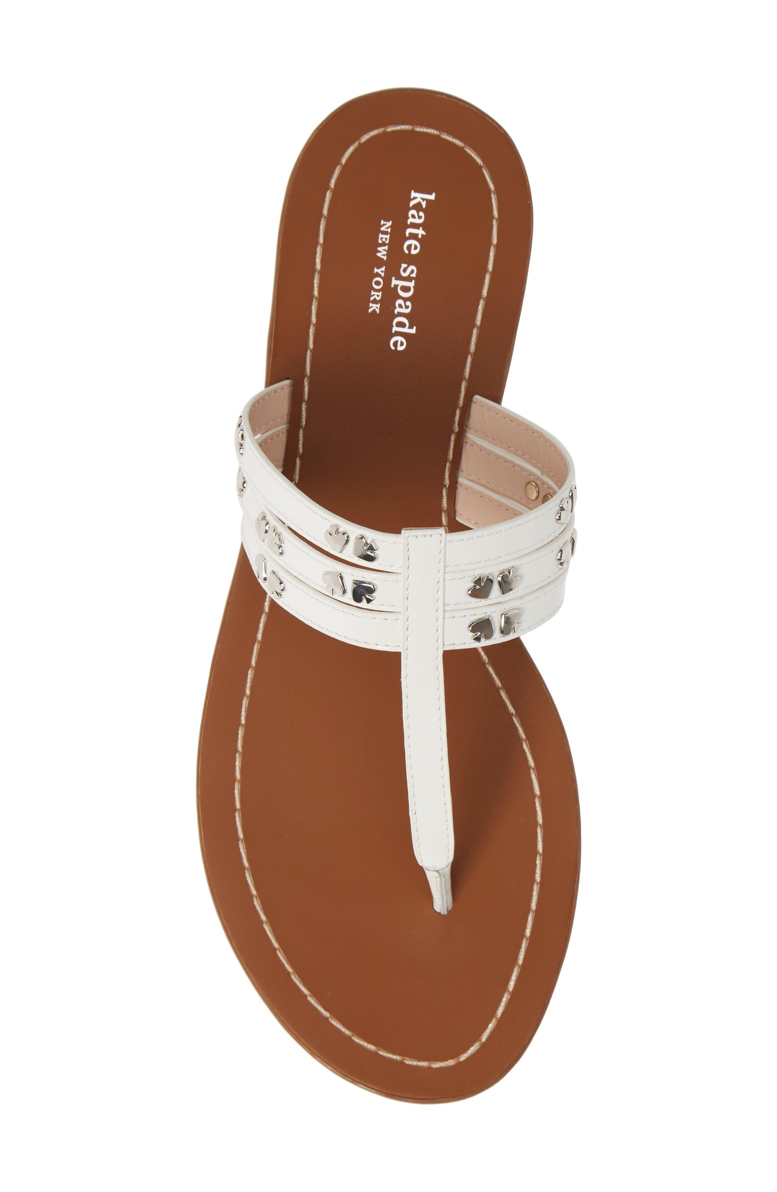 ,                             carol sandal,                             Alternate thumbnail 5, color,                             WHITE