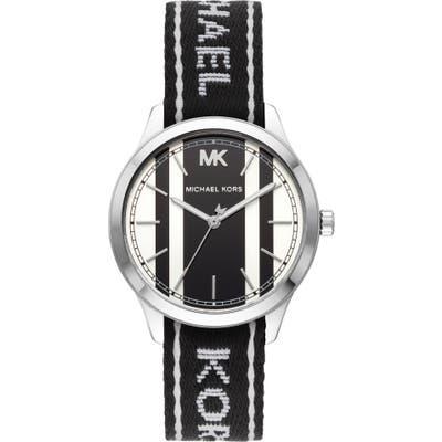 Michael Michael Kors Runway Nato Strap Watch,