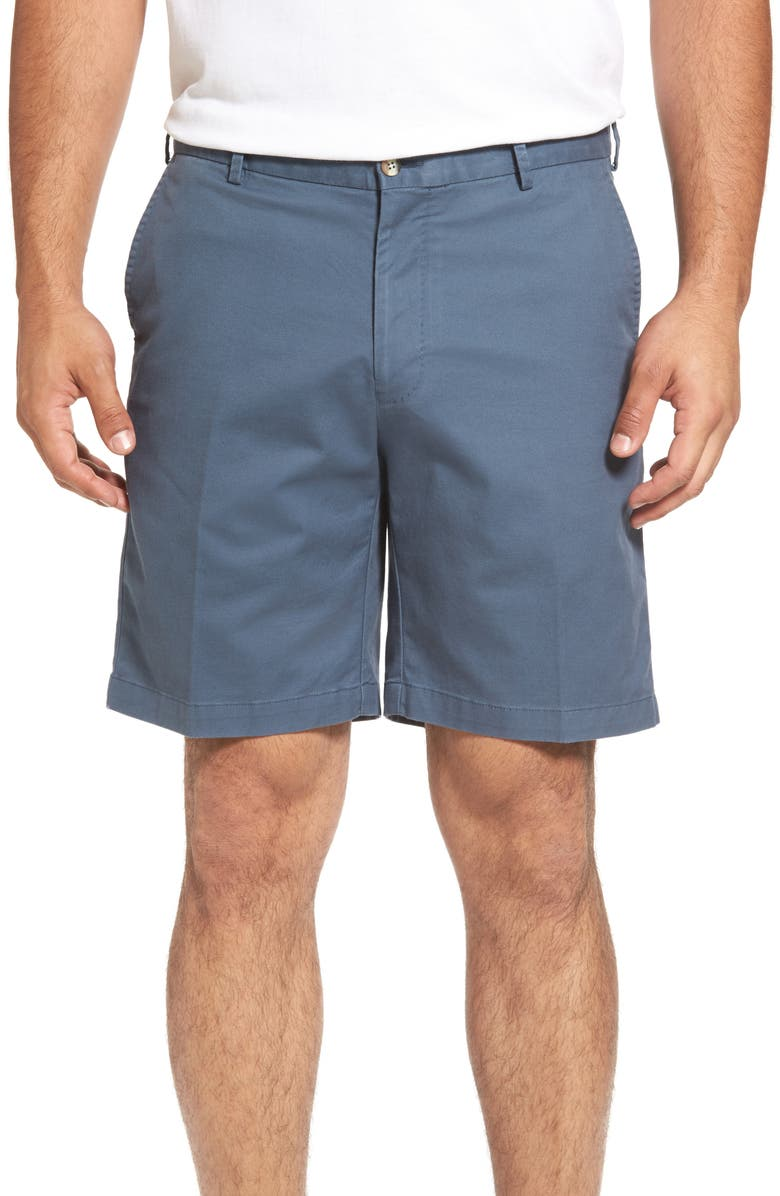 PETER MILLAR Soft Touch Stretch Twill Shorts, Main, color, 410