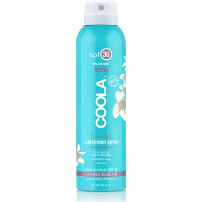 Coola Suncare Sport Sunscreen Spray Broad Spectrum Spf 30, oz