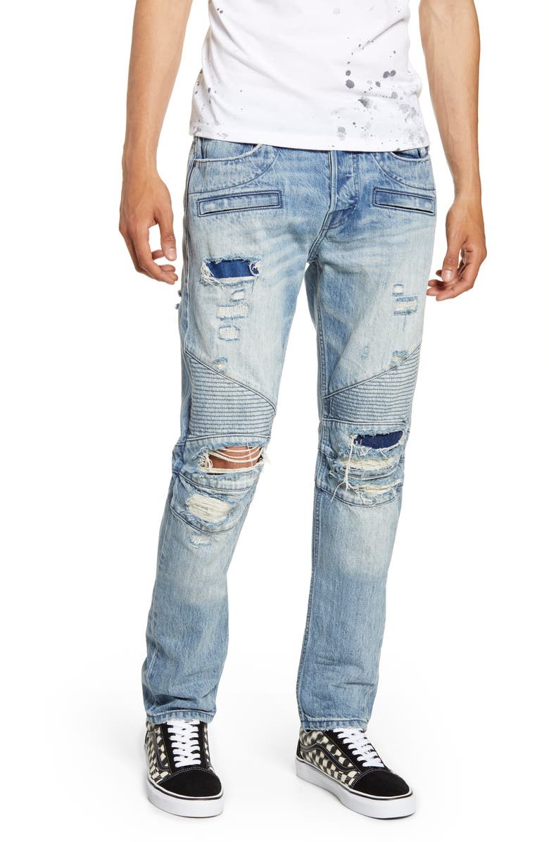 HUDSON JEANS Blinder Biker Skinny Fit Jeans, Main, color, NO LOOK