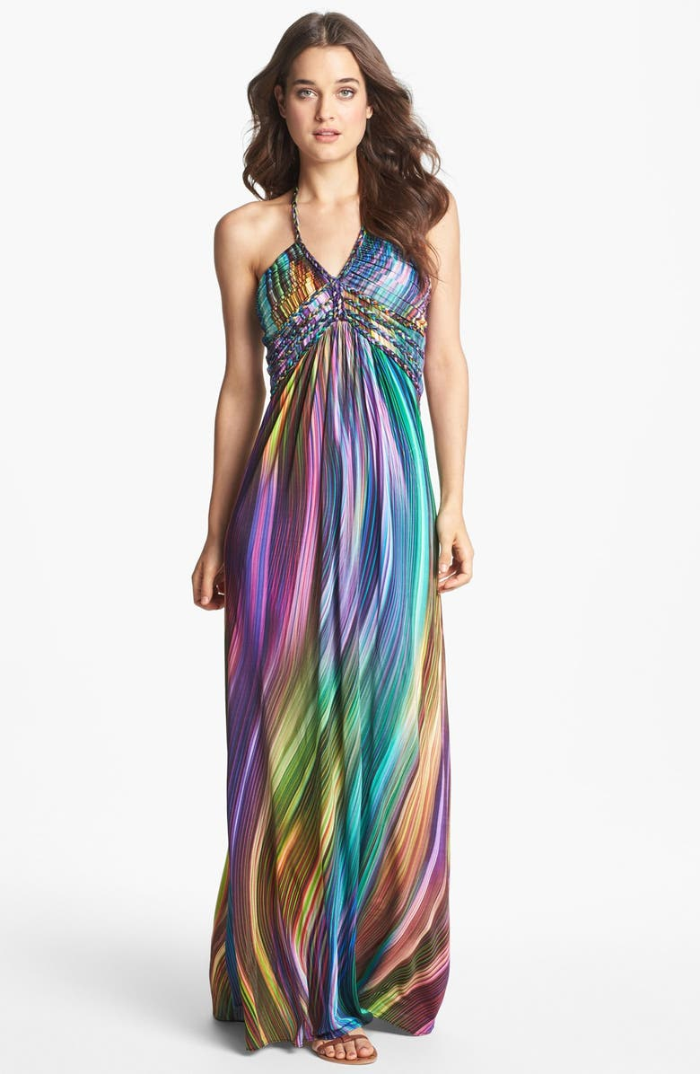 SKY 'Barbor' Maxi Dress, Main, color, 530
