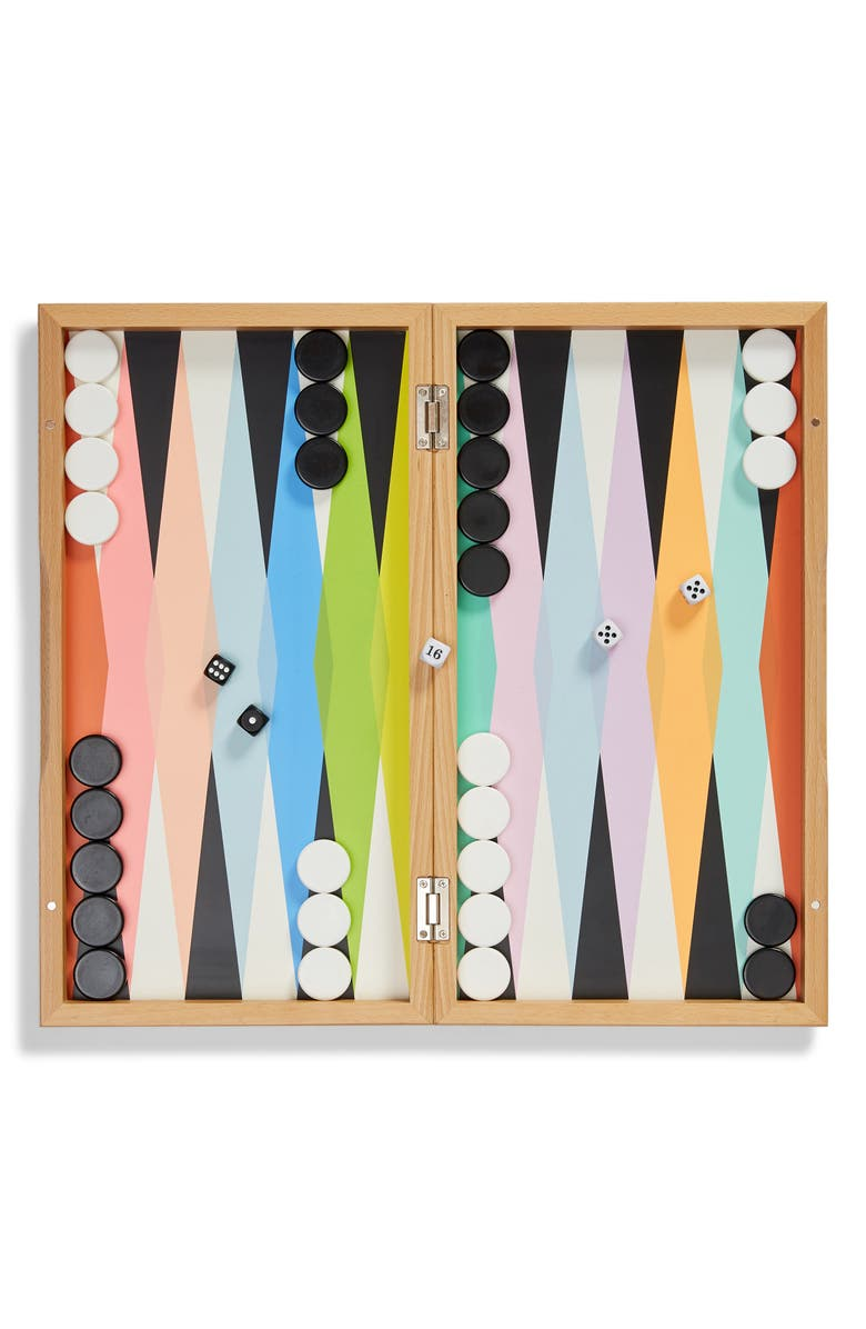 MOMA DESIGN STORE Color Play Backgammon, Main, color, 001
