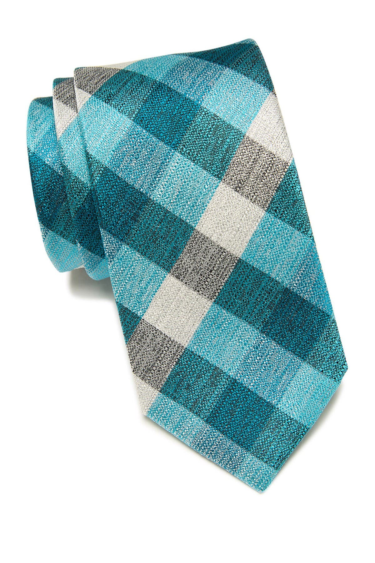 Image of Ted Baker London Melange Plaid Silk Tie