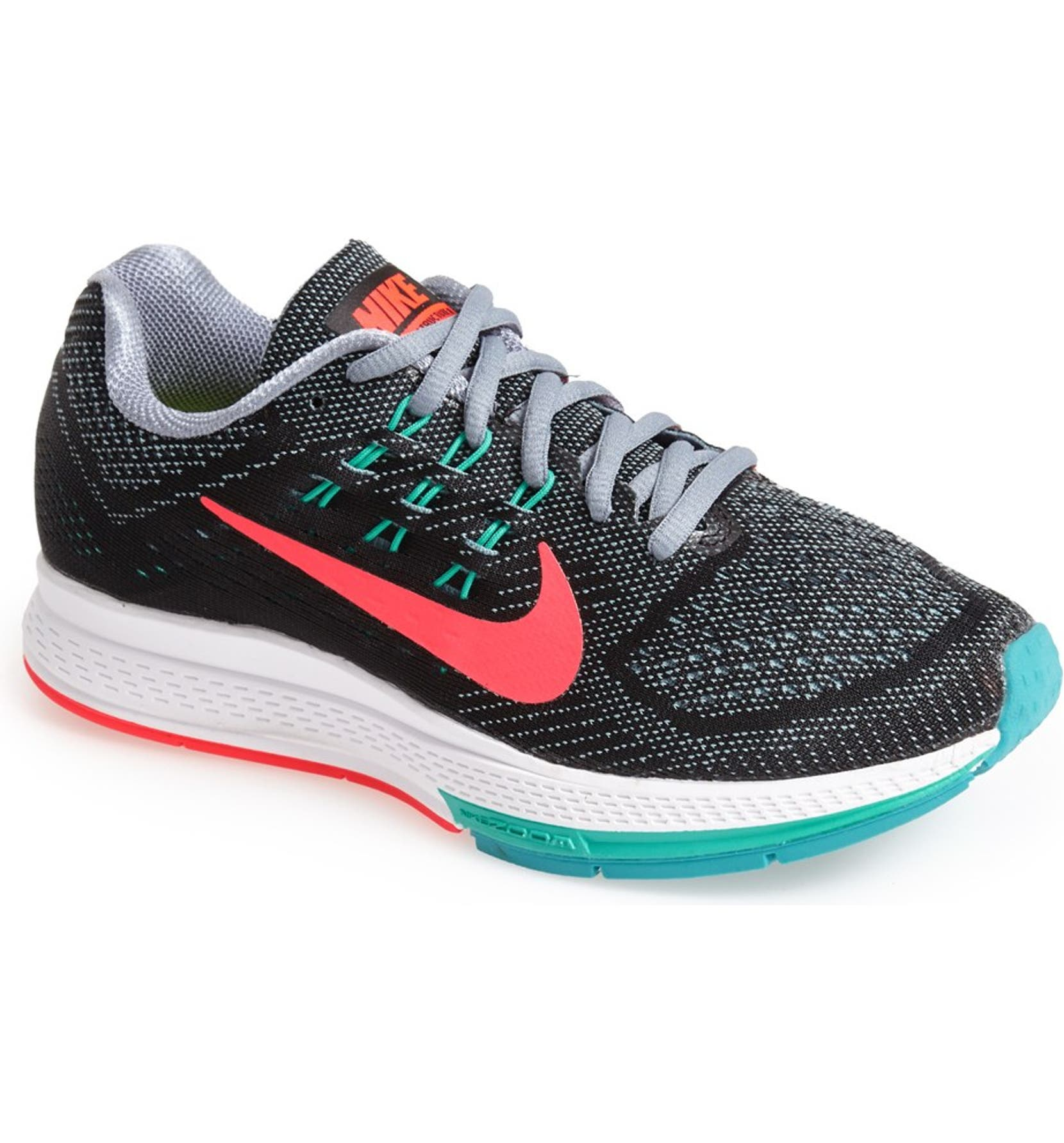 size 40 abd6c 2ddc7 Nike 'Air Zoom Structure 18' Running Shoe (Wide) (Women ...