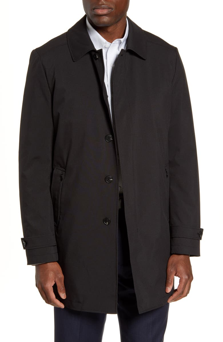 JOHN W. NORDSTROM<SUP>®</SUP> Jackson Raincoat, Main, color, BLACK CAVIAR