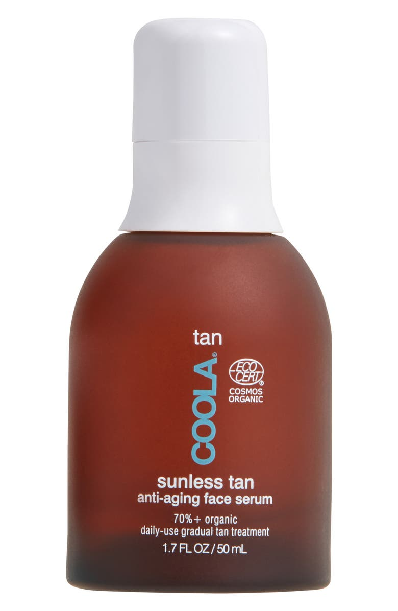 COOLA<SUP>®</SUP> Suncare Sunless Tan Anti-Aging Face Serum, Main, color, NO COLOR