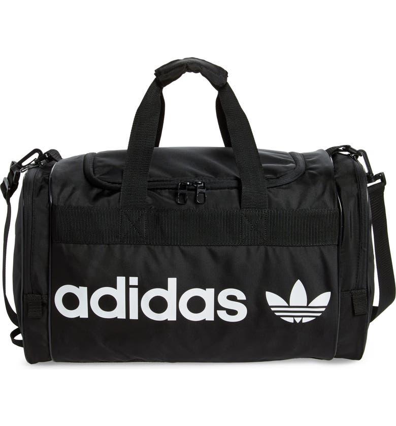 ADIDAS Originals Santiago II Duffle Bag, Main, color, 001