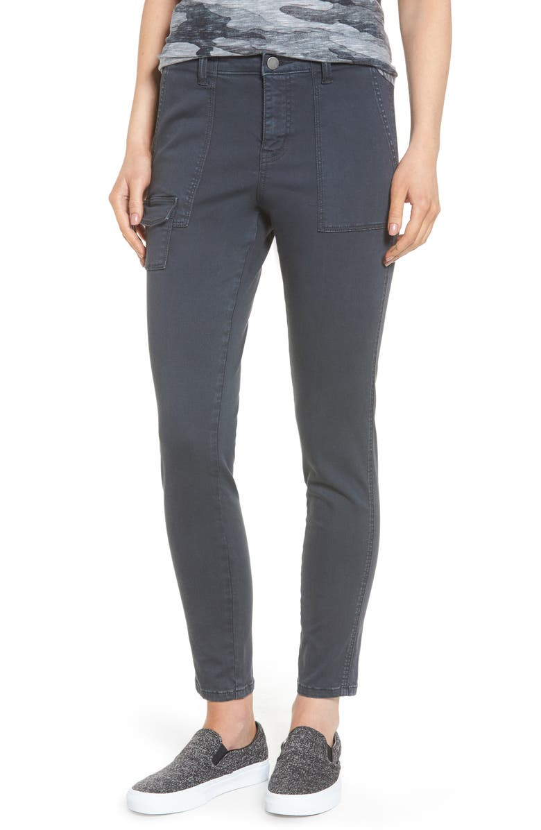 CASLON<SUP>®</SUP> Slim Utility Pants, Main, color, 030