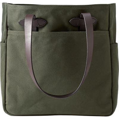 Filson Rugged Twill Tote Bag - Green