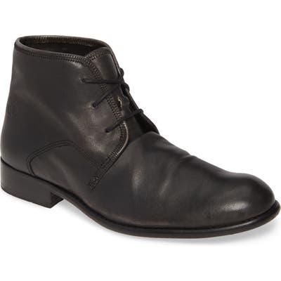 Fly London Watt Cap Toe Boot, Black