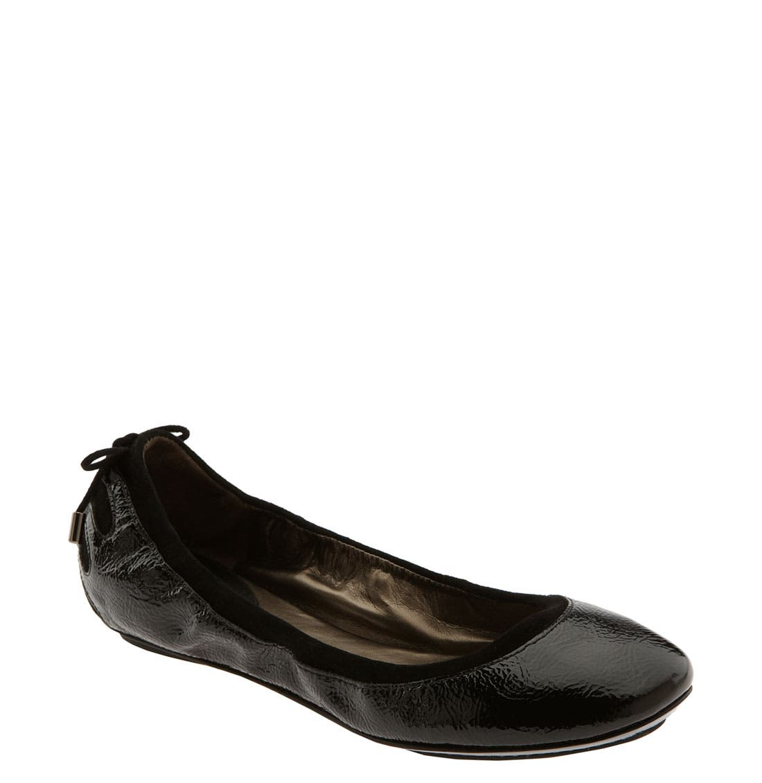,                             Maria Sharapova by Cole Haan 'Air Bacara' Flat,                             Main thumbnail 1, color,                             001
