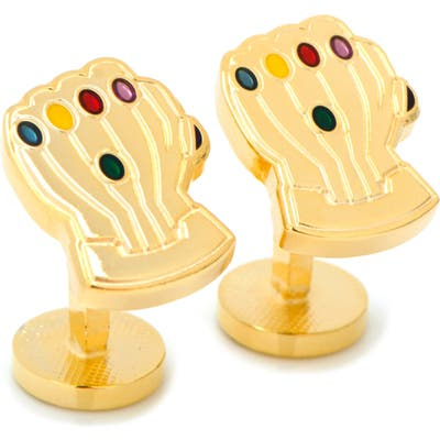 Cufflinks, Inc. Thanos Infinity Gauntlet Cuff Links
