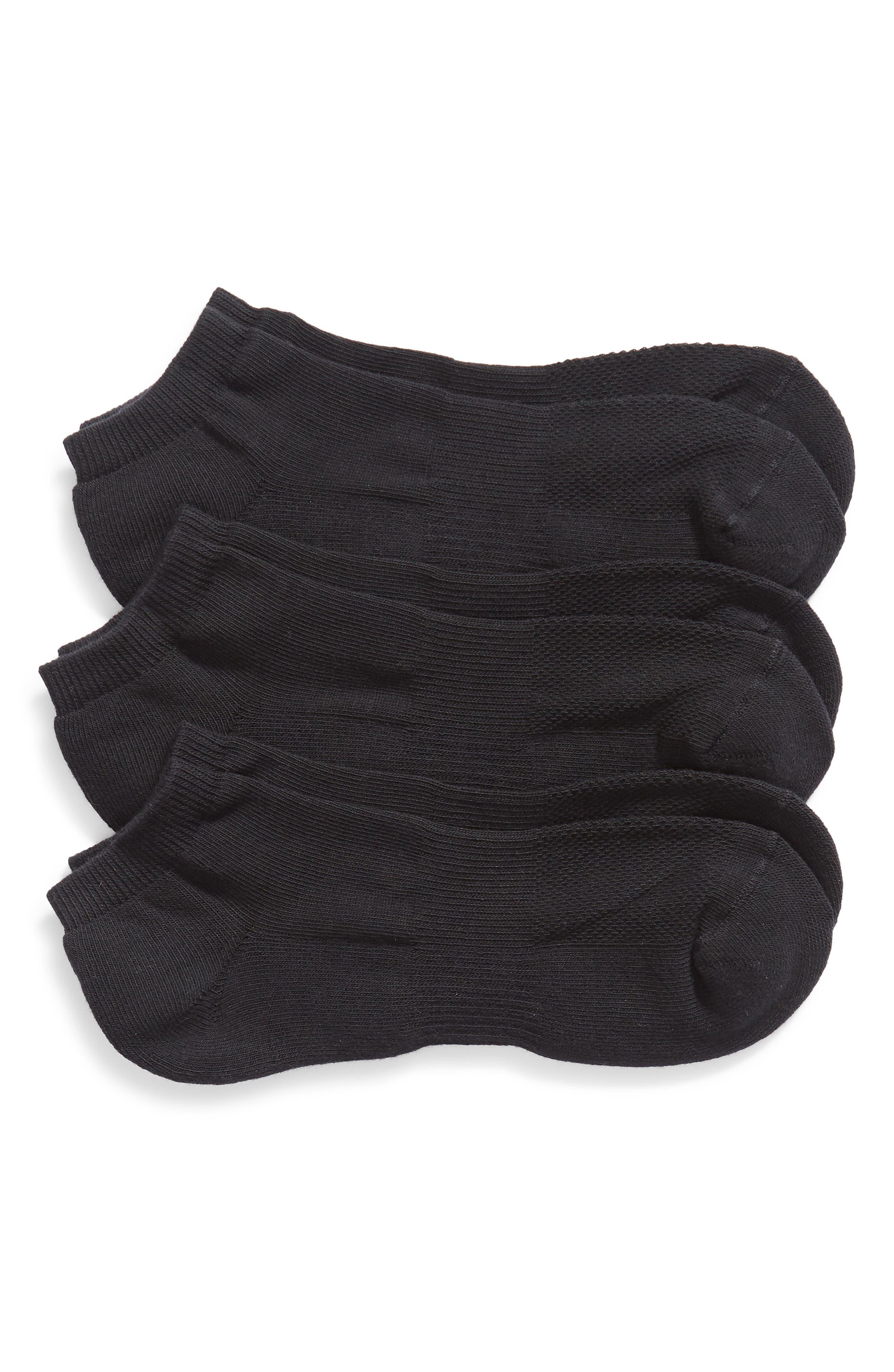 Image of Nordstrom Ankle Socks - 3 Pack