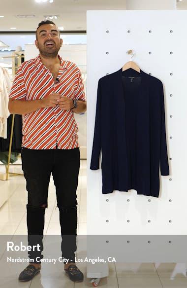 Merino Straight Long Cardigan, sales video thumbnail