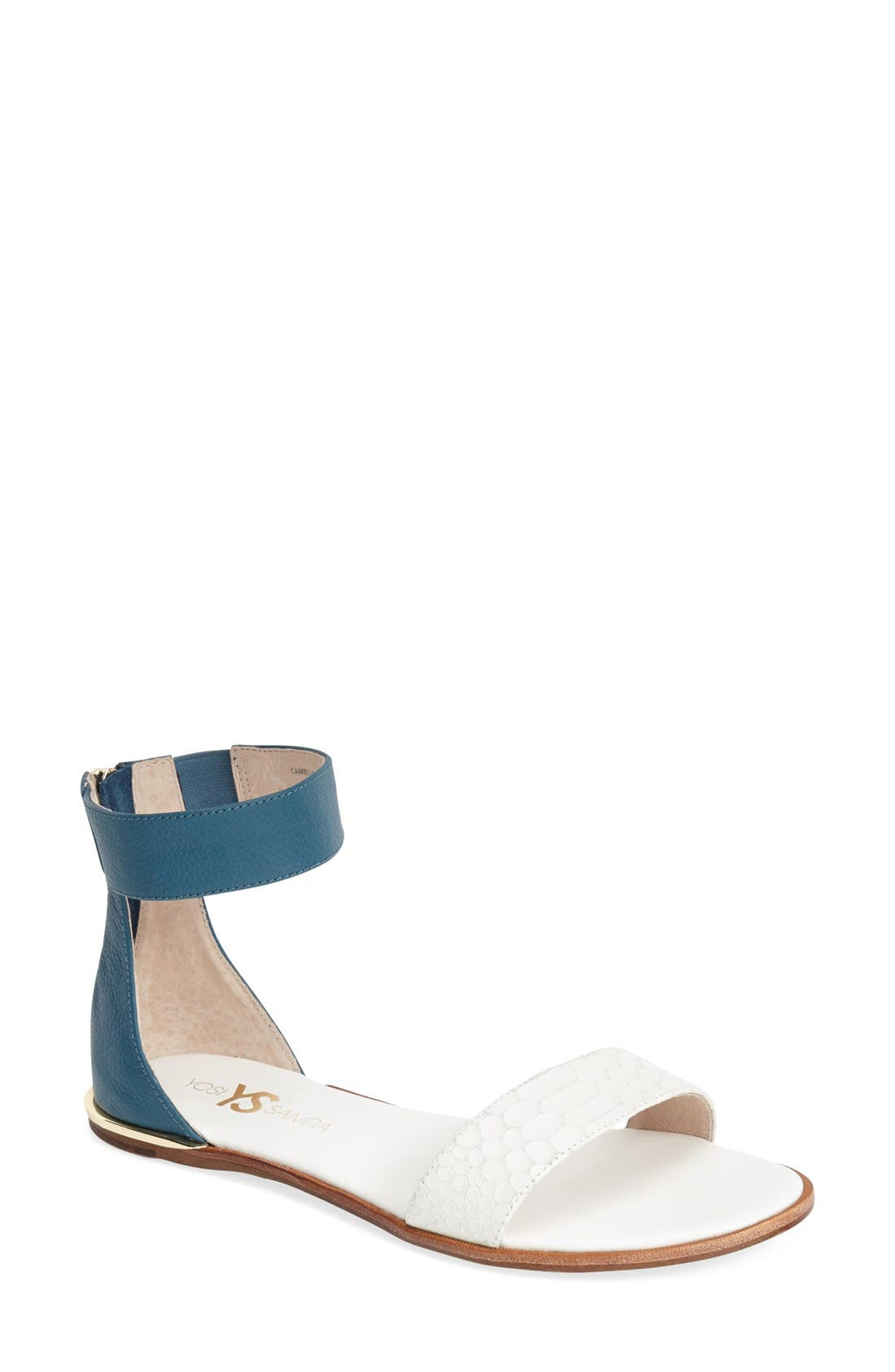 ,                             'Cambelle' Ankle Strap Sandal,                             Main thumbnail 18, color,                             103