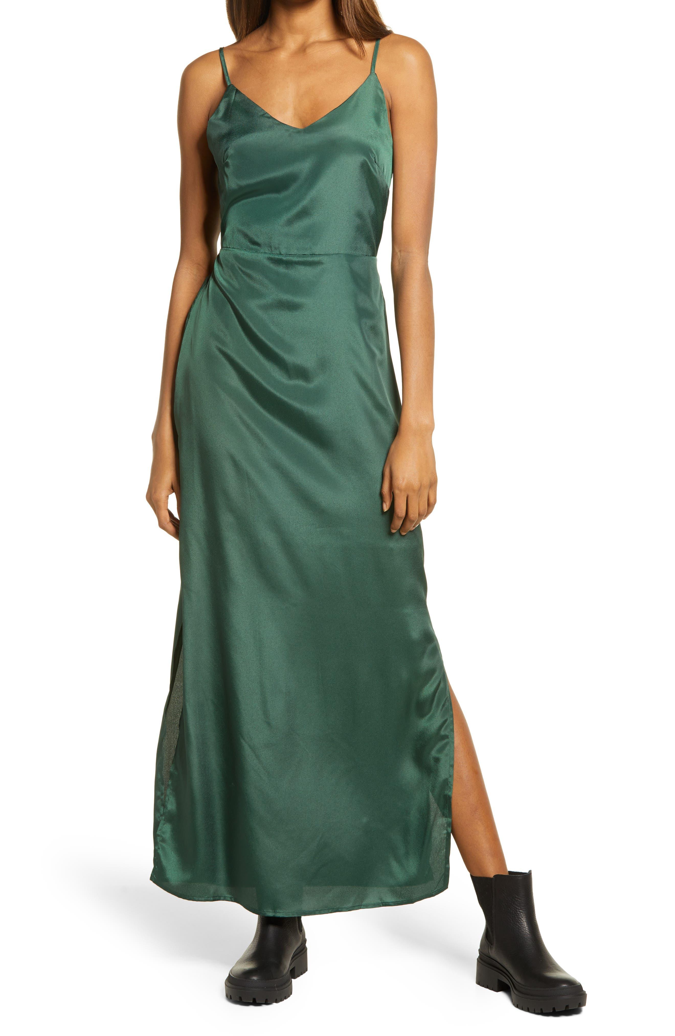 Faye Satin Camisole Dress