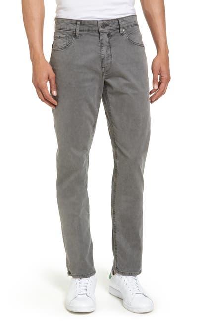 Image of PAIGE Lennox Slim Fit Five-Pocket Pants