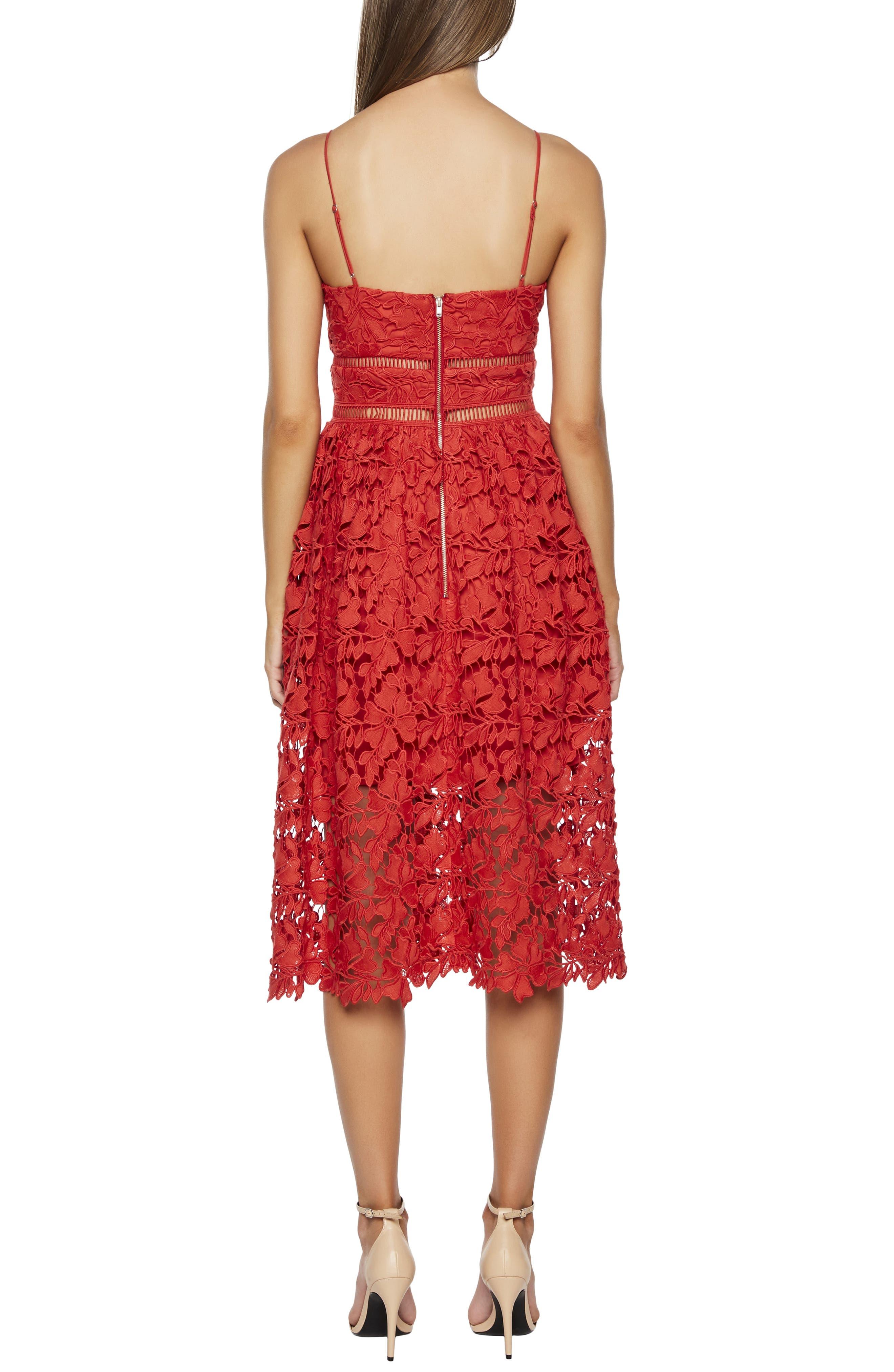 ,                             Sonya Lace Cocktail Dress,                             Alternate thumbnail 7, color,                             610