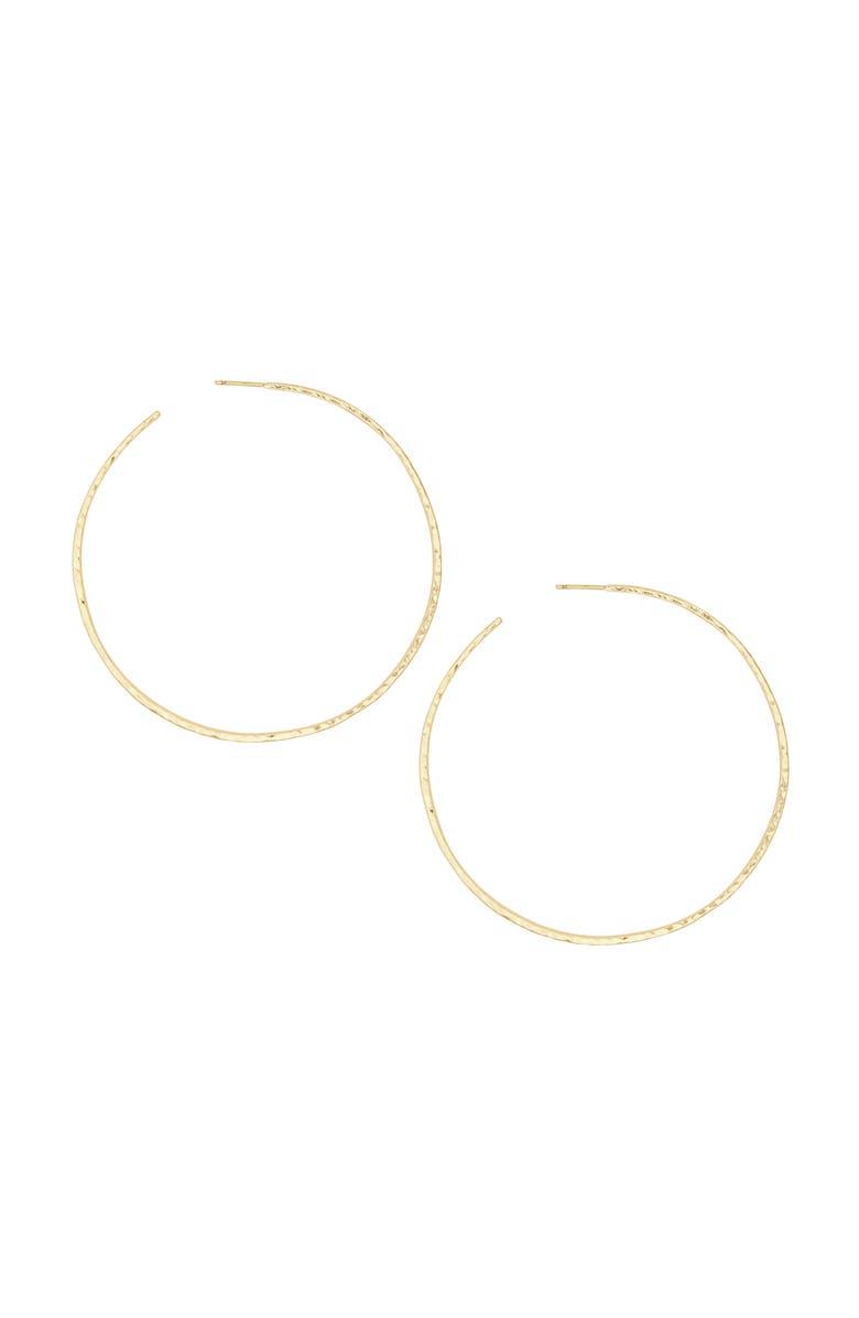 GORJANA Taner Extra Large Hoop Earrings, Main, color, GOLD