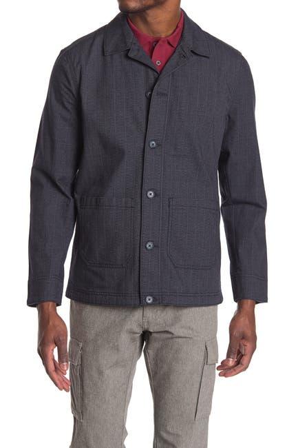 Image of WALLIN & BROS Chore Padded Button Down Shirt Jacket