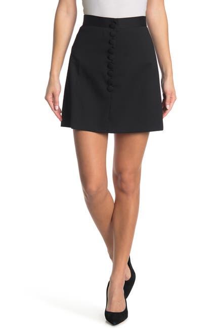 Image of RED Valentino Wool Blend Mini Skirt