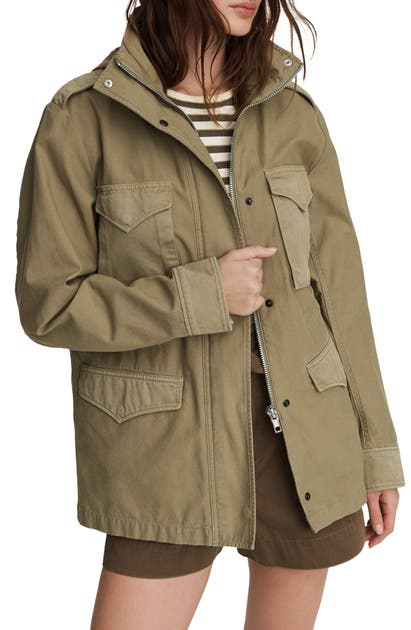 Rag & Bone Jackets FIELD M65 HOODED JACKET