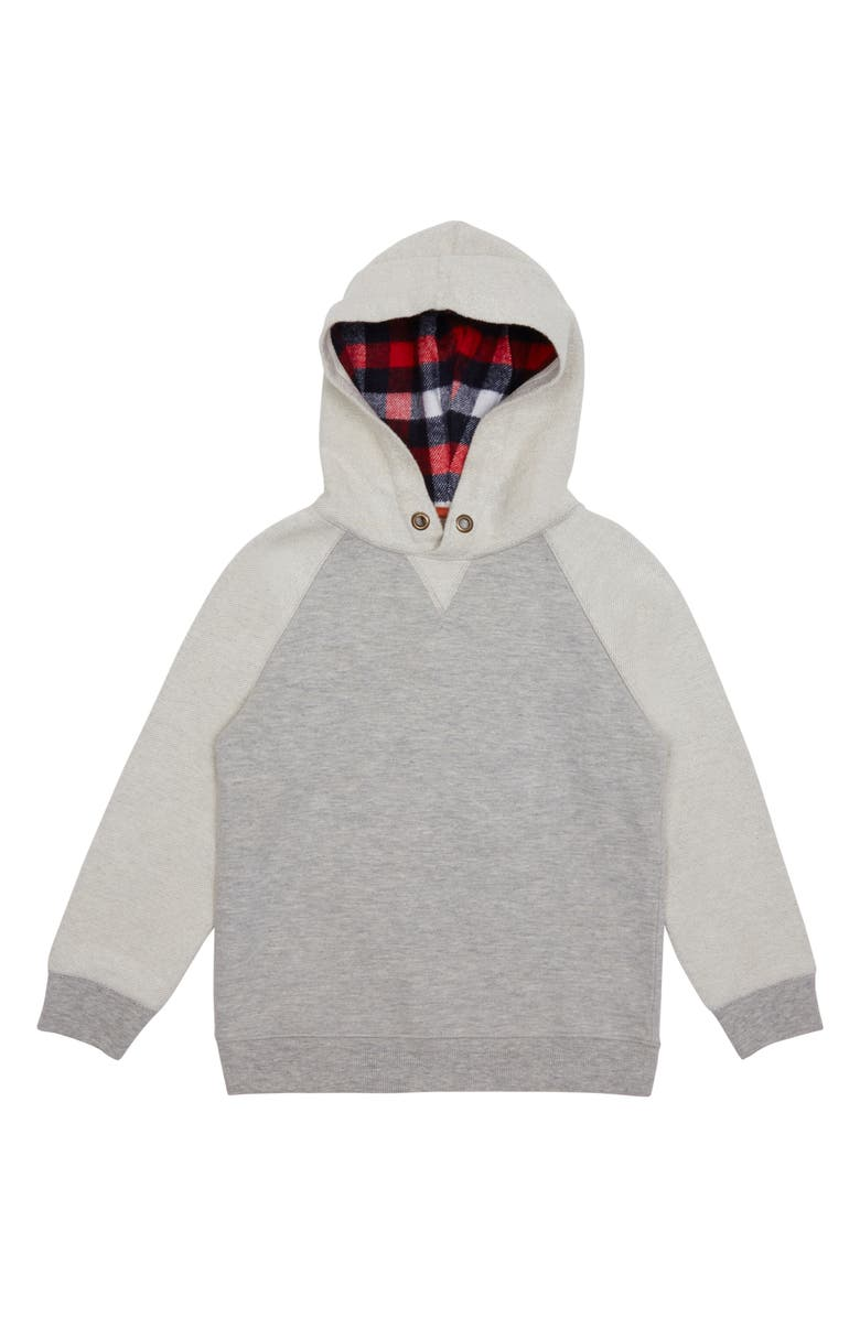 PEEK AREN'T YOU CURIOUS Miles Hoodie, Main, color, GREY HEATHER