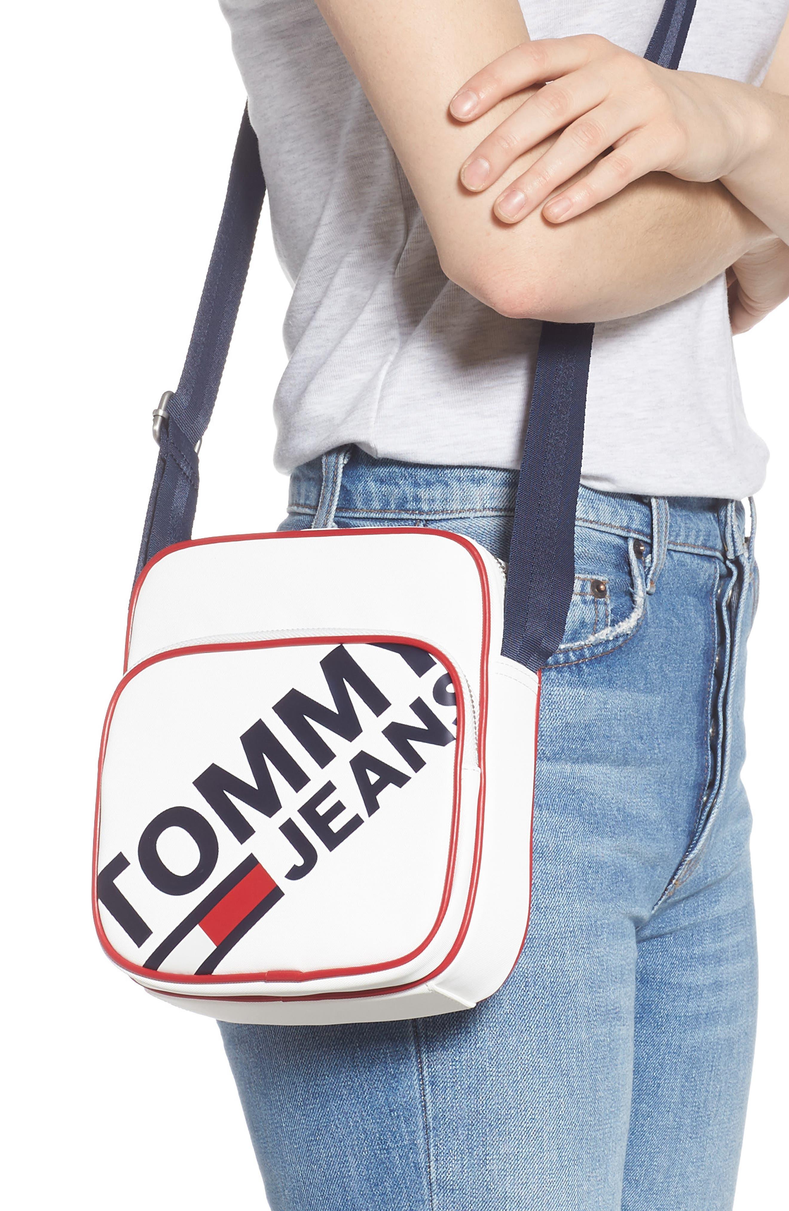 ,                             Modern Prep Reporter Mini Crossbody Bag,                             Alternate thumbnail 2, color,                             CLASSIC WHITE
