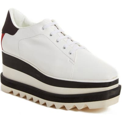 Stella Mccartney Sneak-Elyse Platform Sneaker - White