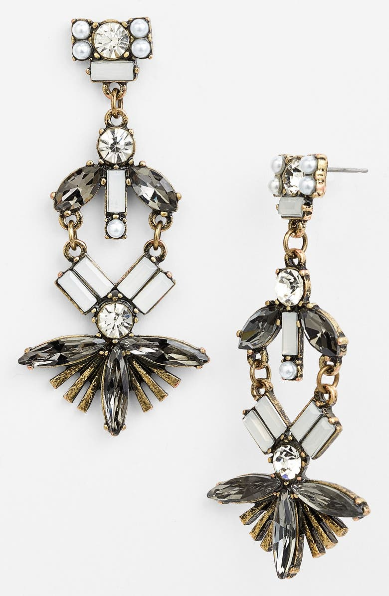 ROBERT ROSE Fan Drop Earrings, Main, color, 746