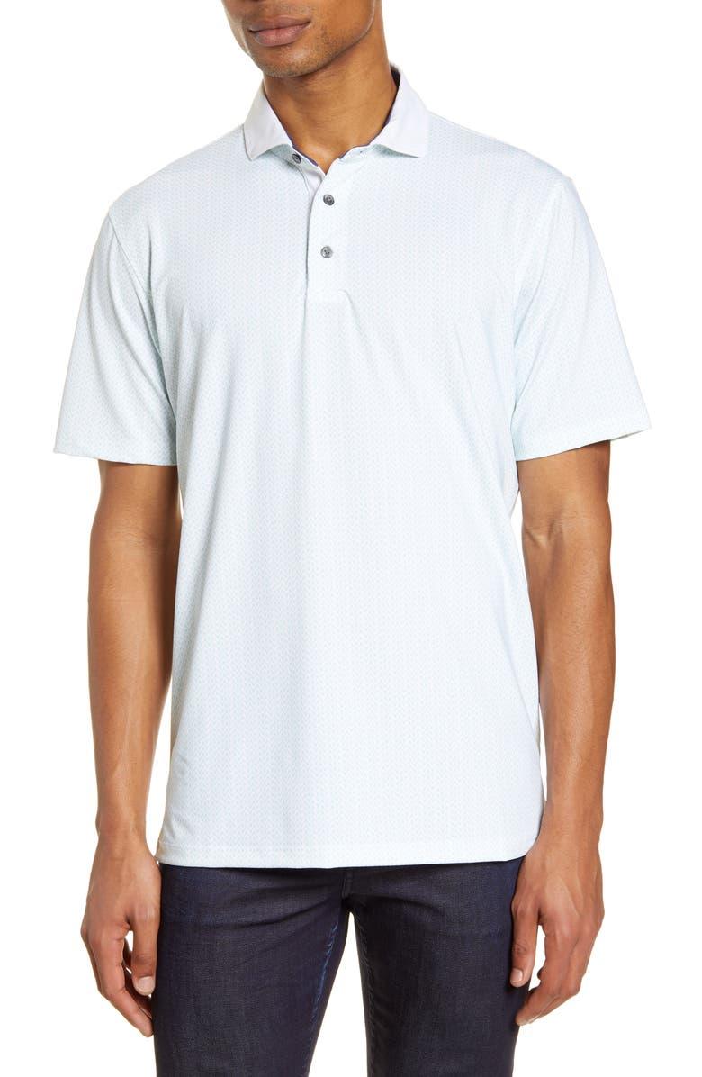 GREYSON Regular Fit Performance Polo, Main, color, ARCTIC