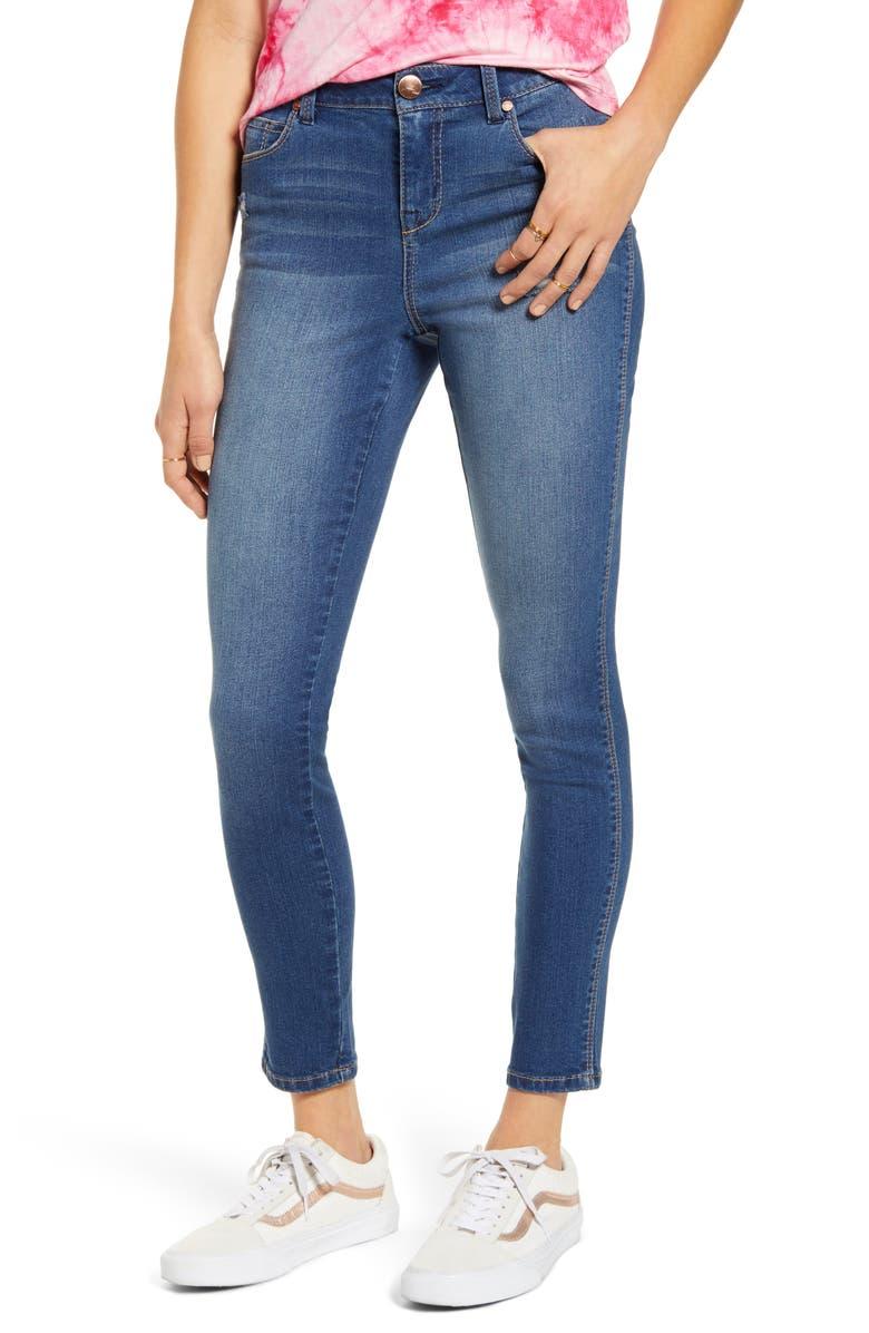 1822 DENIM RE:Denim High Waist Ankle Skinny Jeans, Main, color, KIRK