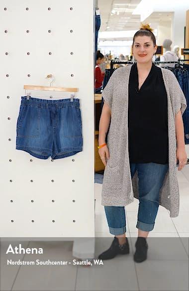 Sand Washed Drawstring Shorts, sales video thumbnail
