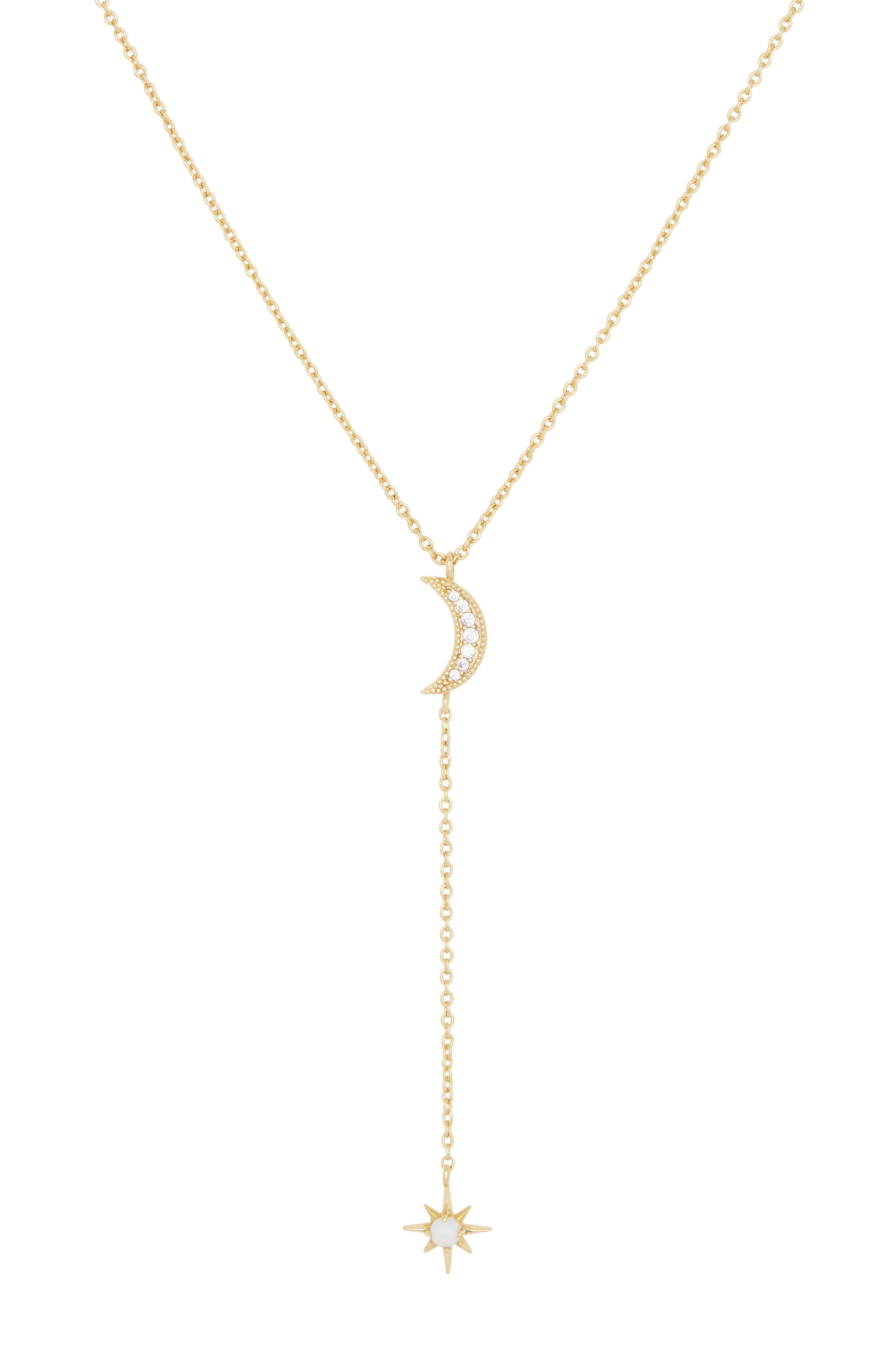 Luna Y-Necklace