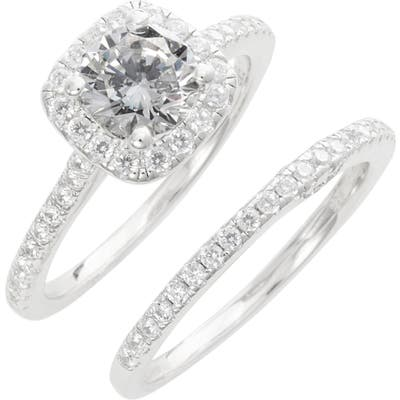 Lafonn Simulated Diamond Engagement Ring & Band